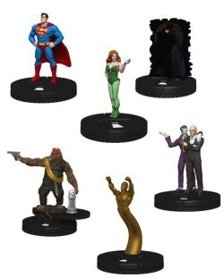 Superman Batman Booster Brick figures