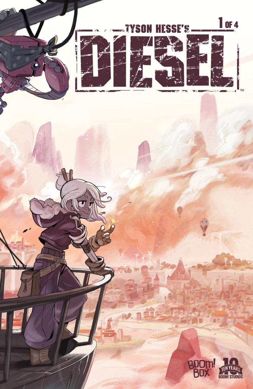 Tyson Hesse's Diesel Main Cover by Tyson Hesse