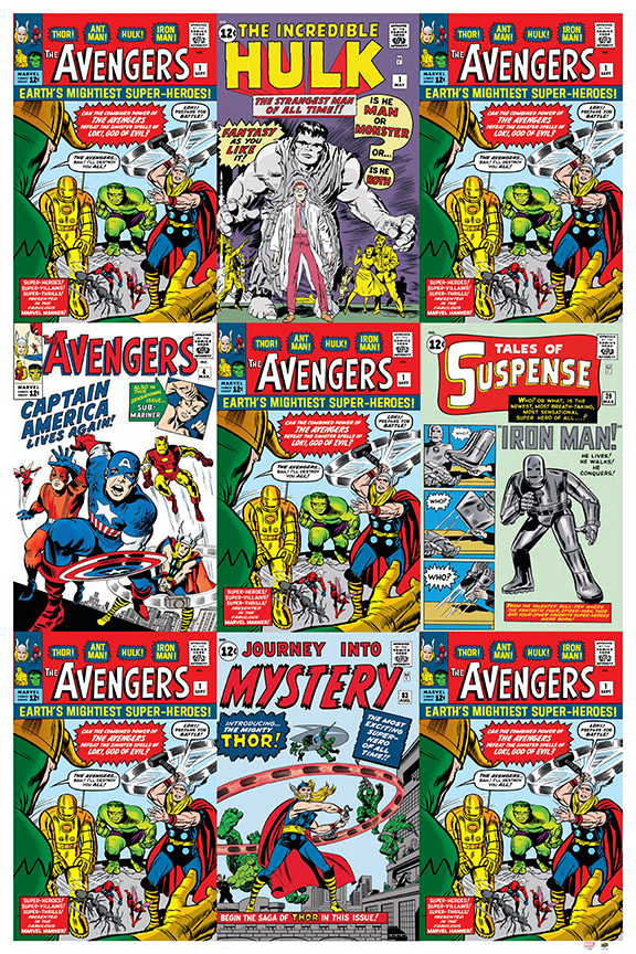 Upper Deck Announces Marvel Avengers Posters