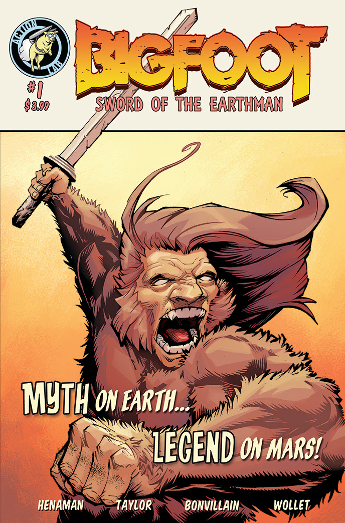 BIGFOOT – SWORD OF THE EARTHMAN 1