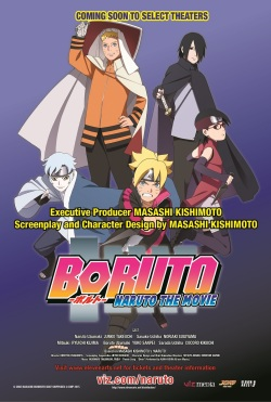 Boruto Movie Poster
