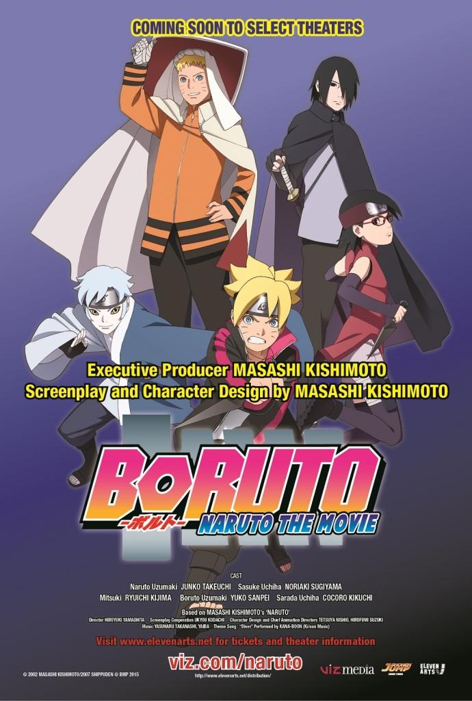 Boruto Movie Poster