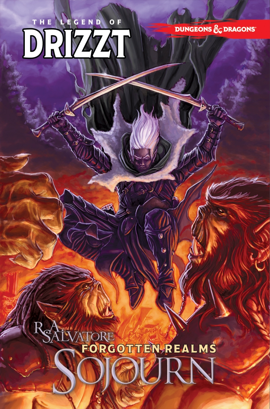 D&D Drizzt Exile TPB-cover