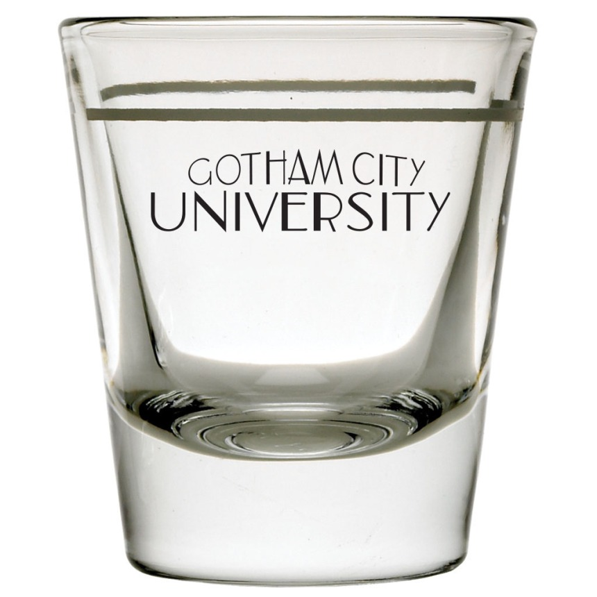 GothamUniversity_ShotGlass