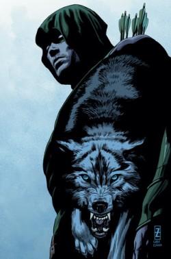 Green Arrow #44 Cover