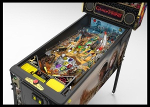 HBO and Stern Pinball Announce Game of Thrones Pinball Machines 1