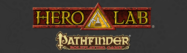 Hero Lab's Class Packs for the Pathfinder Roleplaying Game
