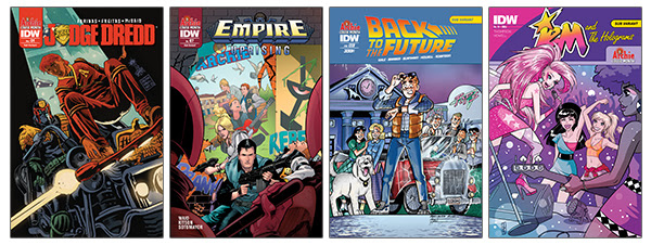 IDW Archie Covers 1