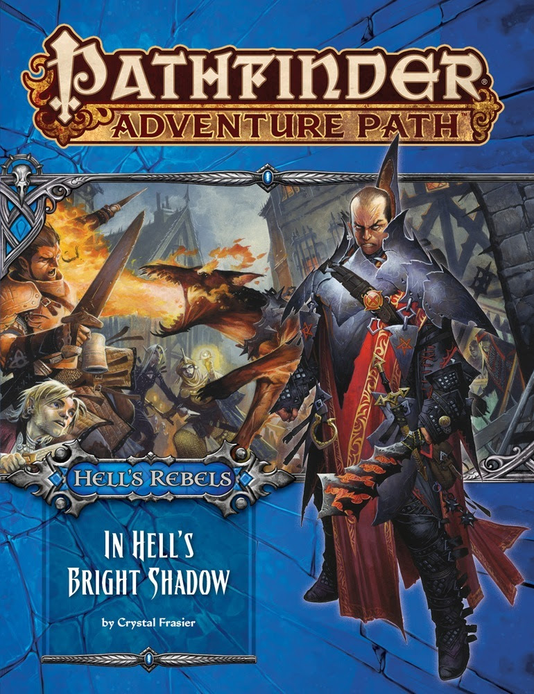 Pathfinder's In Hell's Bright Shadow Launches