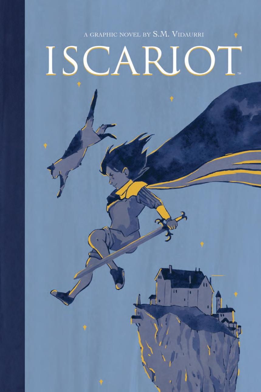 Iscariot Cover by S.M. Vidaurri