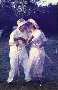 Jerry and Jan win a croquet tournament in Cape Cod