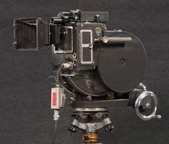Lot 1542--Mitchell Vista Vision Camera used on Star Wars