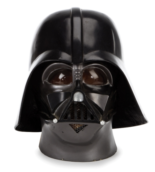 Lot 1550--The Empire Strikes Back productiopn made prototype Darth Vader helmet