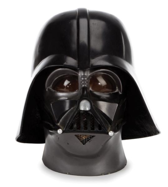 Lot 1550--The Empire Strikes Back productiopn made prototype Darth Vader helmet