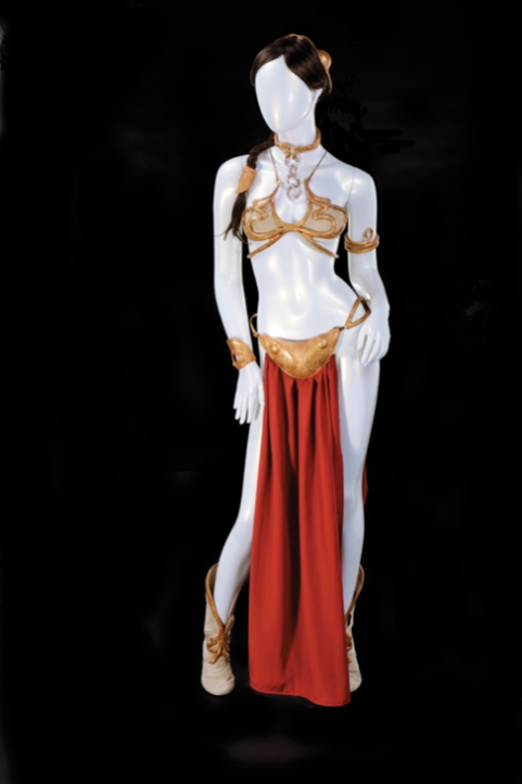 Lot 1558--Carrie Fisher Slave Leia costume collection from Return of the Jedi