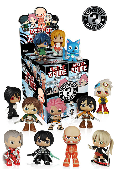 Mystery Mini Anime Collection Series 1 1