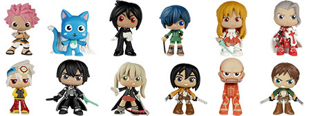 Mystery Mini Anime Collection Series 1 2
