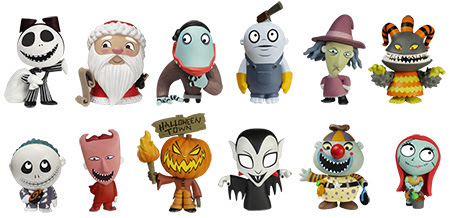 mystery minis the nightmare before christmas 2 - A Nightmare Before Christmas 2