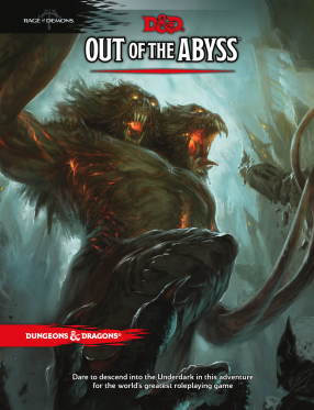Out of the Abyss - Cover Art
