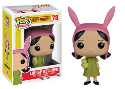 POP! Animation Bob's Burgers Louise Belcher