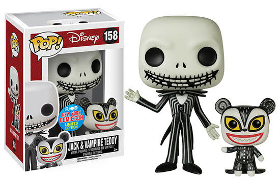 Pop! Disney Jack with Vampire Teddy