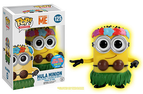 Pop! Movies Despicable Me 2 - Glow Hula Minion