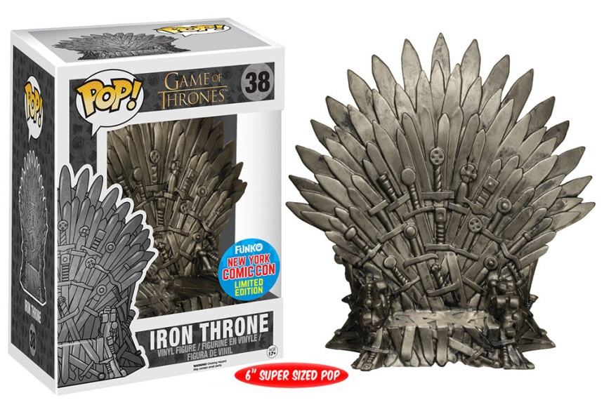 Pop! TV Game of Thrones - Iron Throne