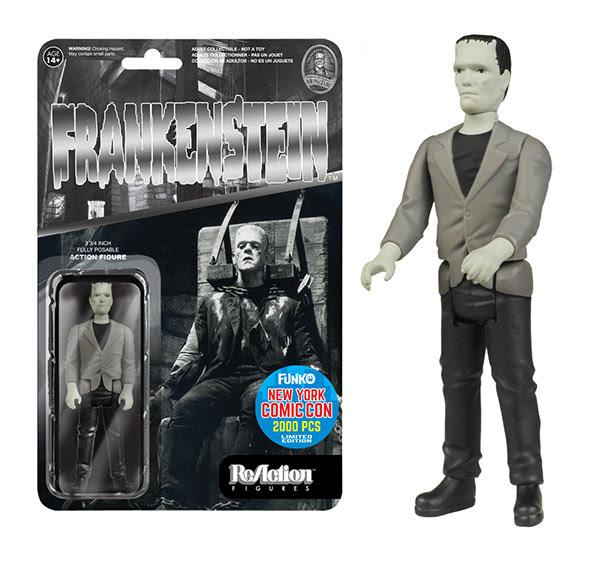 ReAction Universal Monsters - Black & White Frankenstein