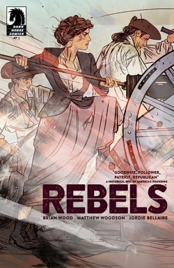 REBELS #7 Cover