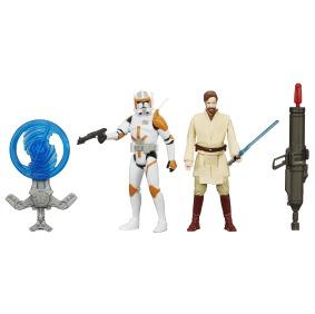 STAR WARS TFA 3.75IN Figure 2-Pack_Commander Cody Obi Wan