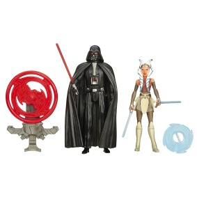 STAR WARS TFA 3.75IN Figure 2-Pack_Darth Vader Ahsoka Tano