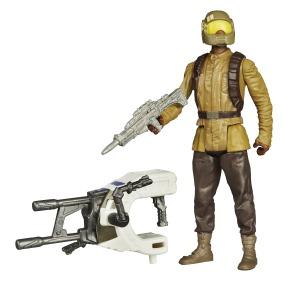 STAR WARS TFA BUILD-A-WEAPON 3.75IN_Resistance Trooper