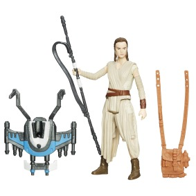 STAR WARS TFA BUILD-A-WEAPON 3.75IN_Rey