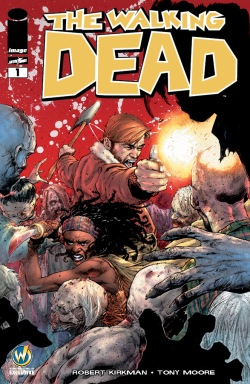 The Walking Dead #1 Cover By Jerome Opeña