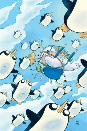 Adventure Time Ice King Paroline Lamb