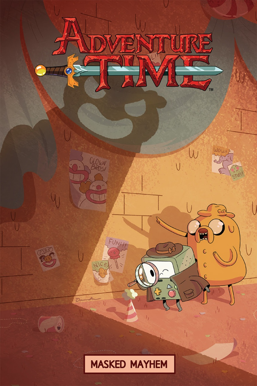Adventure Time Masked Mayhem Cover by Drew Green