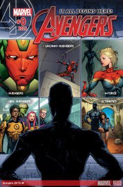Avengers 0 Cover