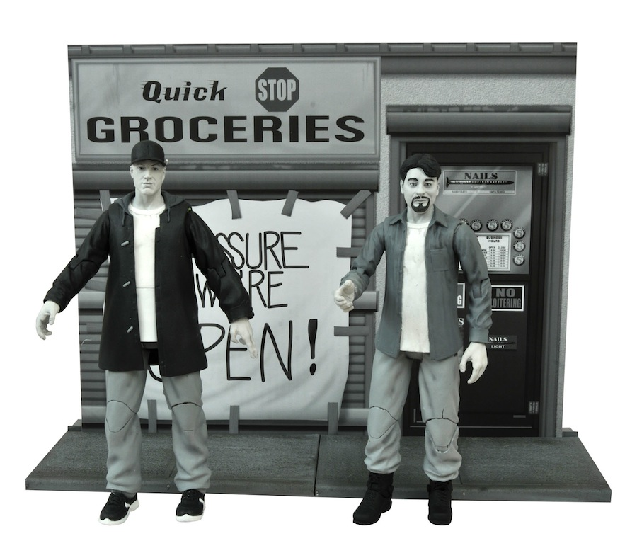 Clerks Select 20th Anniversary Action Figures In Stores Now!