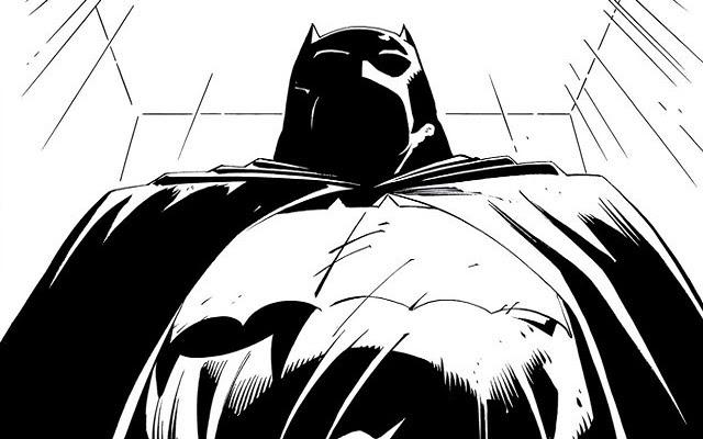 Dark Knight III The Master Race Opening Panel