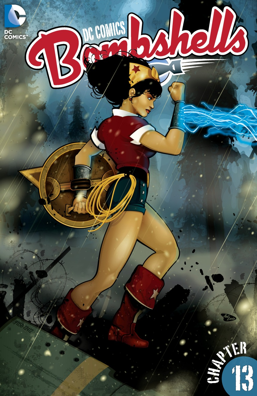 DCBombshell 13 SF Cover