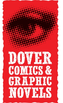 DOVER COMICS & GRAPHIC NOVELS LOGO ][