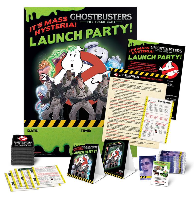 Ghostbusters The Board Game Launch Party