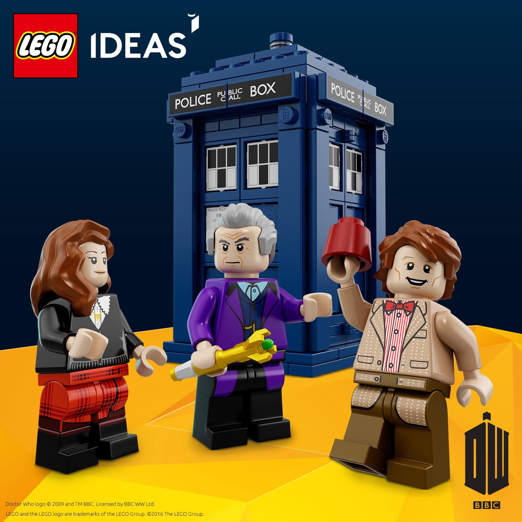 LEGO Doctor Who Revealed
