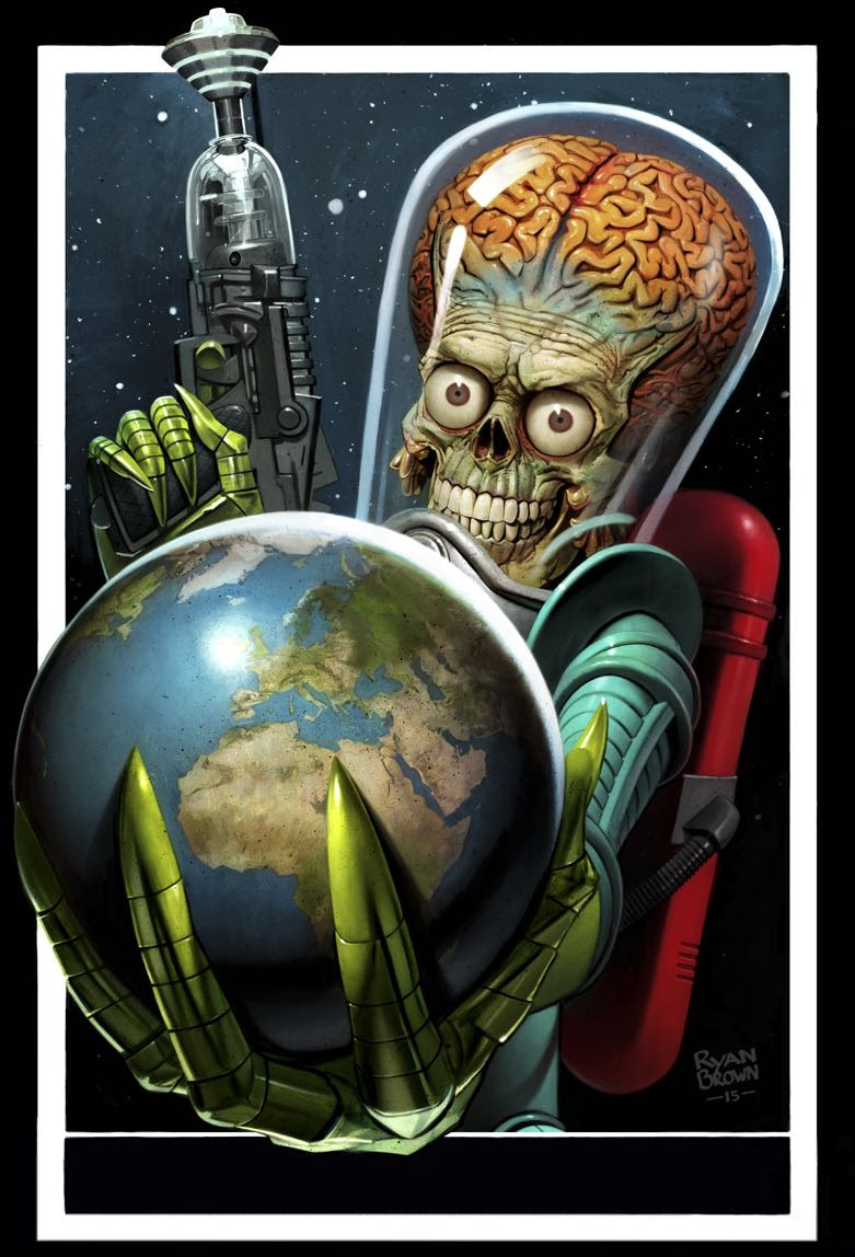 MARS ATTACKS OCCUPATION