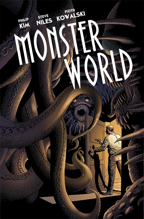 Monster World Piotr Kowalski Cover
