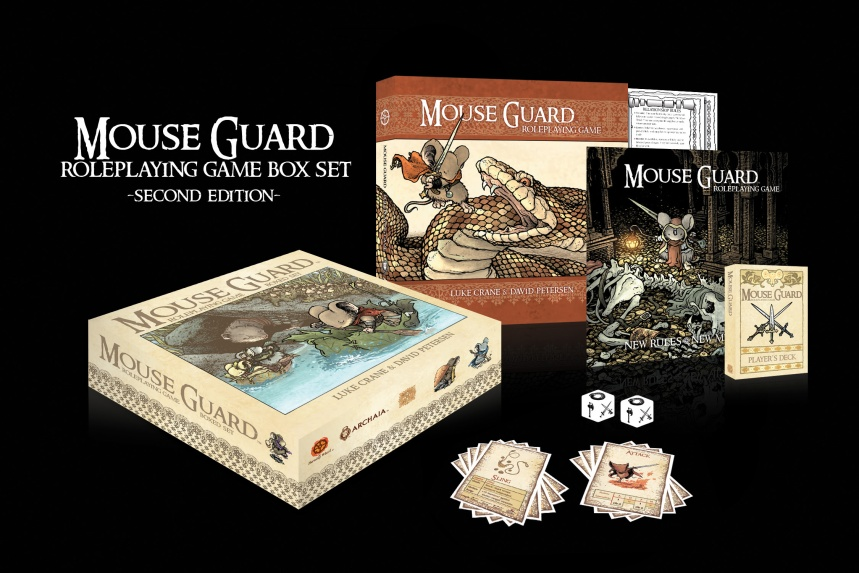 Mouse Guard Roleplaying Game Box Set Second Edition