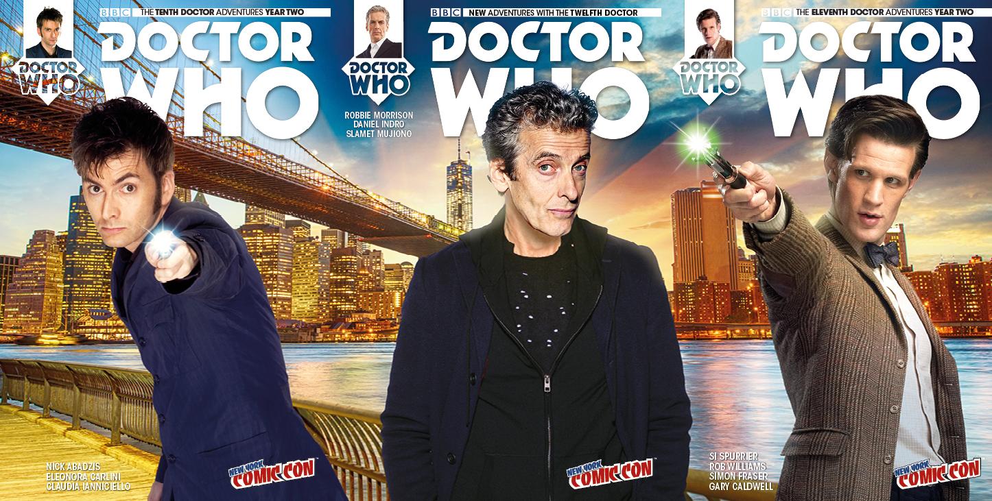 NYCC 2015: Titan Comics' Doctor Who Comics Plan