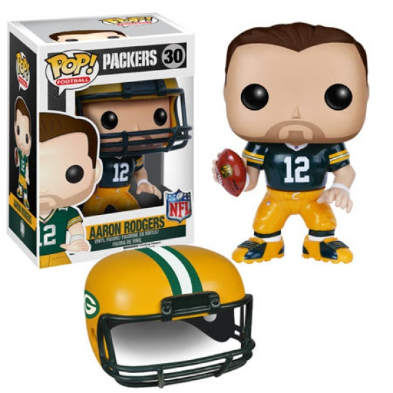 Pop Football Aaron Rodgers