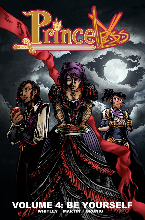 PRINCELESS VOLUME 4 BE YOURSELF