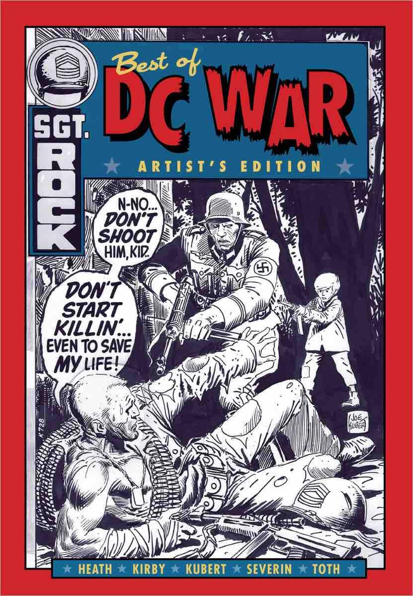 THE BEST OF DC WAR ARTIST'S EDITION